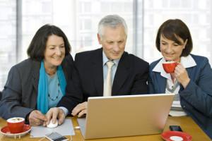 Online Marketing Strategie-Konzept