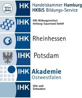 IHK Logos bundesweit